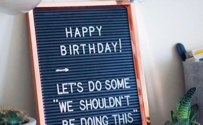 decoration anniversaire adulte
